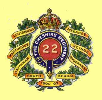 Regimental Badge circa 1905