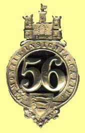 Badge of 56th Regiment