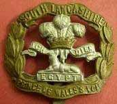 Badge of South Lancs Regiment