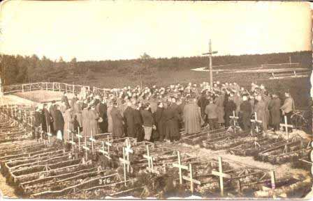 A burial party at Soltau