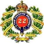 22 Regiment Badge c. 1905