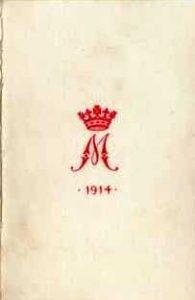 Christmas card 1914