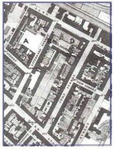 Map of John Street, Derby