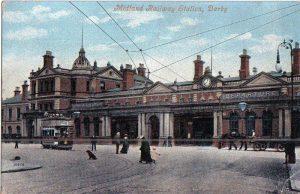 Midland Railway Station, Derby