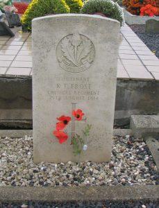Lt Frost's Grave