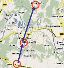 Saacy map