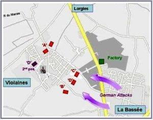 Violaines Map